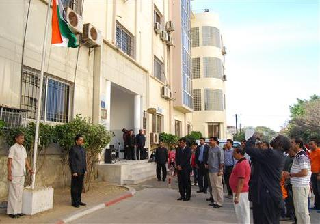 Republic Day Celebrations at Embassy of India, Dakar 26.01.2014