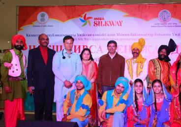 Indian Folk Dance Group, Naksh Virsa Punjab Da, Performs in Kazakhstan