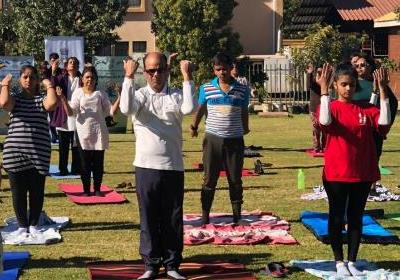 Celebration of 5th IDY on 16.6.2019 at Adansonia Garden, Francistown