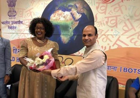 World Hindi Diwas-2019 on 16.2.2019 in Gaborone