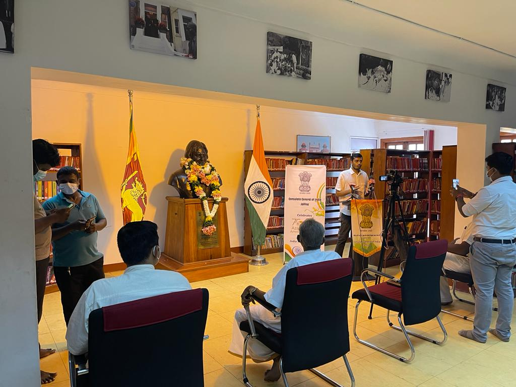 On the 90th Birth Anniversary of Bharat Ratna Dr APJ Abdul Kalam, Consul General highlighting his contributions in the India Space Program and in making India self reliant, he also touched upon Indian Space Programme launched recently by Hon'ble Prime Minister Shri Narendra Modi atmanirbhar aimed at Aatmanirbhar & furthering India's enviable journey in the space sector.