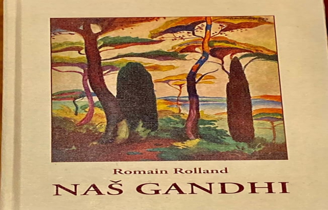 """Mahatma Gandhi's 152nd birth anniversary was celebrated at @hkdnapredakzg by Croatian-Indian Society by releasing fresh prints of Romain Rolland's """"Naš Gandhi"""" (1924) with preface by Stjepan Radić whose 150th birth anniversary was on 11 June 2021"""