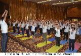 Enthusiastic Celebration of 2nd International Yoga Day in Baghdad