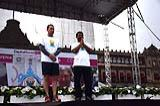 Celebration of Second International Day of Yoga in Mexico City