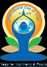 Celebration of the 3rd International Day of Yoga at Platres Athletic Sport Centre in Cyprus