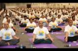 Celebration of the 4th International Day of Yoga in Muscat, Oman, on 21 June 2018