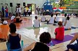 PM's message played during the celebration of International Day of Yoga, 2018 at Cuba