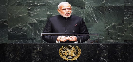 'I stand here conscious of the expectations of the world from 1.25 billion people'- Prime Minister at the 69th UNGA