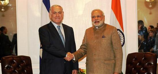 Prime Minister meets Prime Minister Benjamin Netanyahu of Israel in New York on the sidelines of the 69th UNGA
