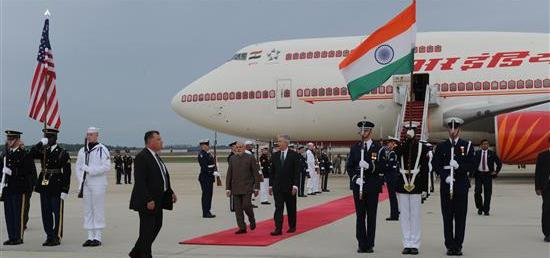 Prime Minister Narendra Modi arrives in Washington DC on second leg of his visit to United States of America