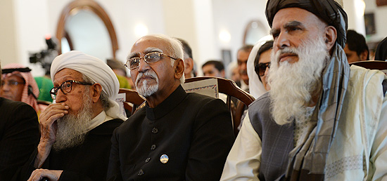 Vice President witnesses the swearing-in ceremony of the new President of Afghanistan, Ashraf Ghani, in Kabul