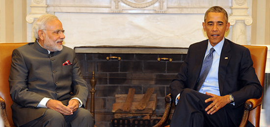 Prime Minister meets President Barack Obama of United States​ at the White House​ in Washington DC