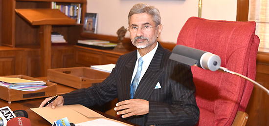 Dr. S. Jaishankar assumes charge as Foreign Secretary of India