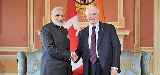 Prime Minister meeting with The Right Honourable David Johnston, Governor General of Canada in Ottawa