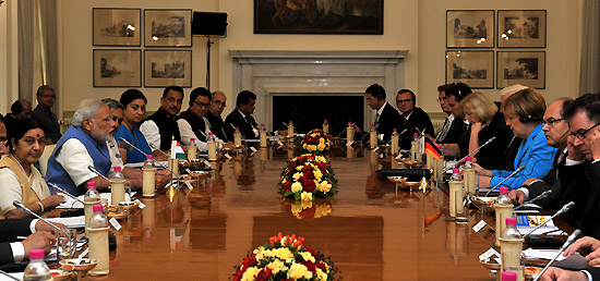 3rd Indo German Inter-Governmental Consultations take place in New Delhi