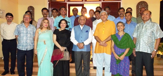 Minister of State for External Affairs Dr. V.K. Singh meets Indian Community members in Vientiane