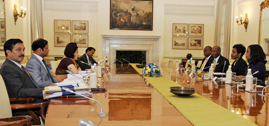 India-Jamaica Foreign Office Consultations take place in New Delhi