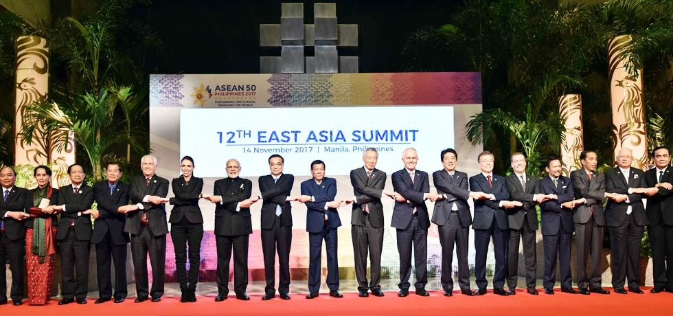 Group Photograph at 12th East Asia Summit in Manila, Philippines