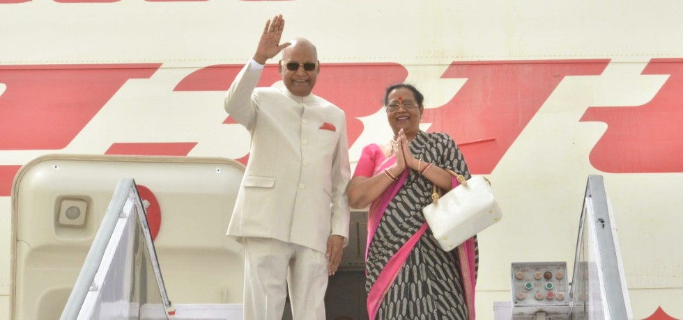 President departs from New Delhi on his 3-Nation State Visit to Greece, Suriname and Cuba