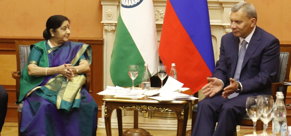 External Affairs Minister meets Yury Borisov, Deputy Prime Minister of the Russian Fedration at the 23rd IRIGC-TEC Meeting in Moscow