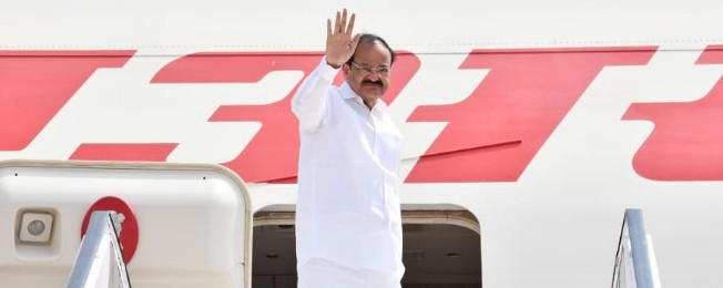 Vice President departs from New Delhi on his three Nation visit to Serbia, Malta and Romania