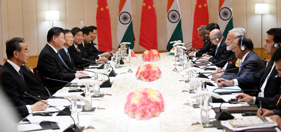 Prime Minister and President of China hold Delegation Level Talks during Chennai Informal Summit in Mamallapuram