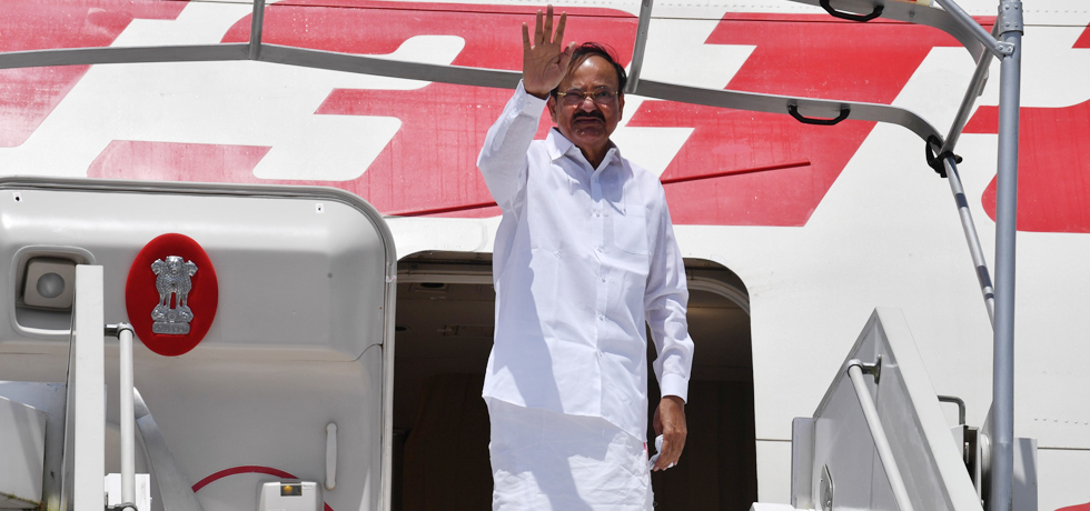 Vice President departs from Freetown for India after successful completion of his visit to Sierra Leone