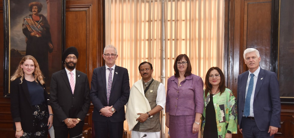 Minister of State for External Affairs meets delegation from New Zealand South and South East Parliamentary Friendship Group in New Delhi