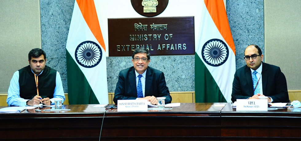 Secretary (CPV and OIA) at the India-Qatar Foreign Office Consultations