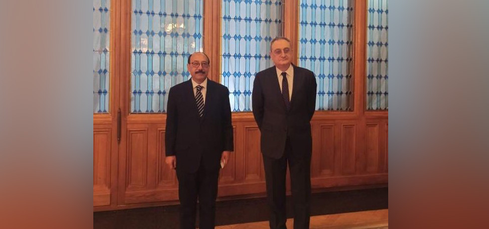 Foreign Secretary and Russian Deputy Foreign Minister Mr. Igor Morgulov at the India-Russia Foreign Office Consultations in Moscow