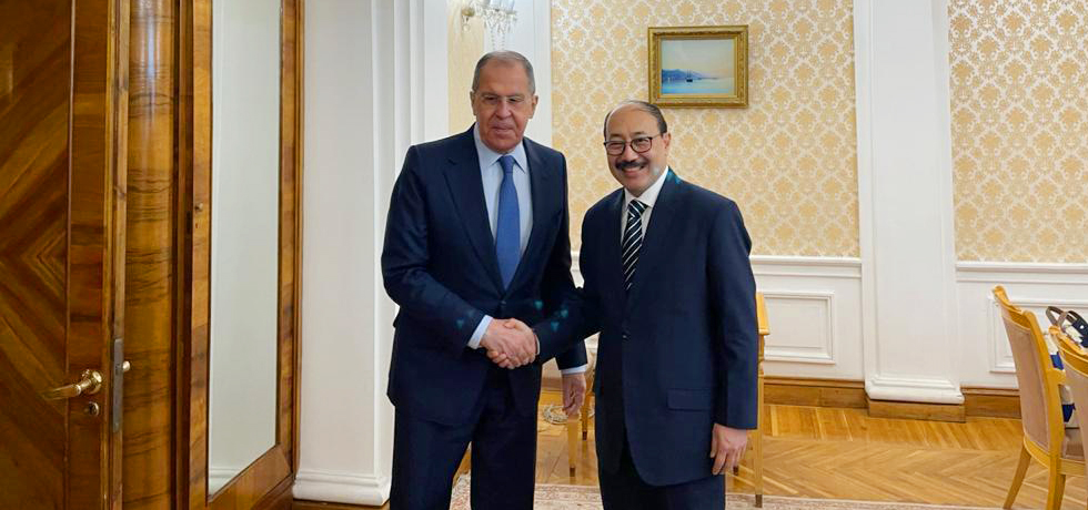Foreign Secretary called on Sergey Lavrov, Russian Minister of Foreign Affairs