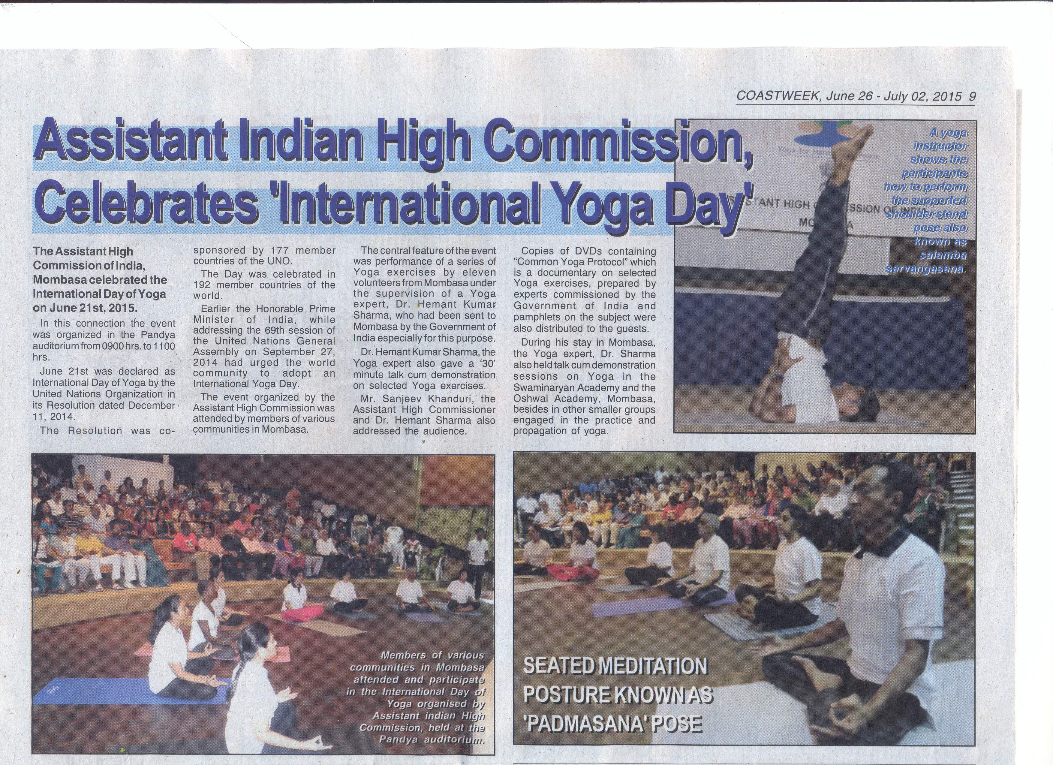 Yoga News Detail