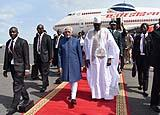 Visit of Vice President to Mali (September 29-30, 2016)