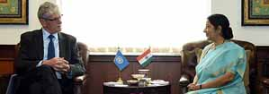 Visit of President-elect of the 70th Session of United Nations General Assembly to India