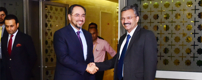 Visit of Minister of Foreign Affairs of the Islamic Republic of Afghanistan to India (September 10-12, 2017)