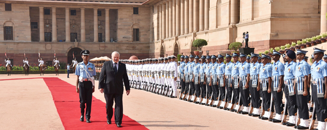 State visit of President of Belarus to India (September 11-12, 2017)