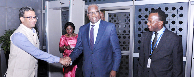 Visit of Minister of Foreign Affairs of the Republic of Guinea to India (November 03-07, 2017)