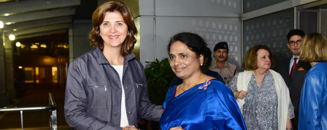 Visit of Minister of Foreign Affairs of Republic of Colombia to India (November 06-09, 2017)
