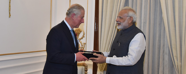 Visit of Prince of Wales to India (November 08, 2017)