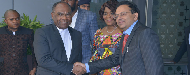 Visit of Vice Prime Minister, Minister of Foreign Affairs and Regional Integration of the Democratic Republic of the Congo to India (November 09-11, 2017)