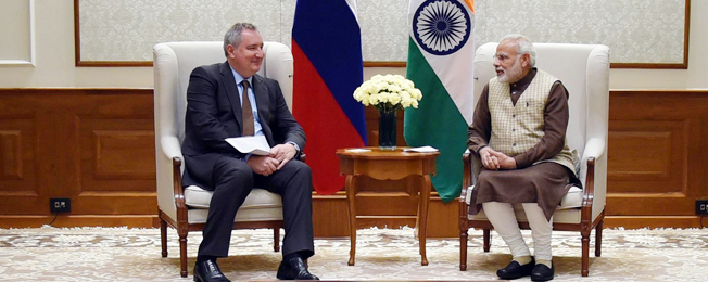 Visit of Deputy Prime Minister of Russian Federation to India (December 23, 2017)