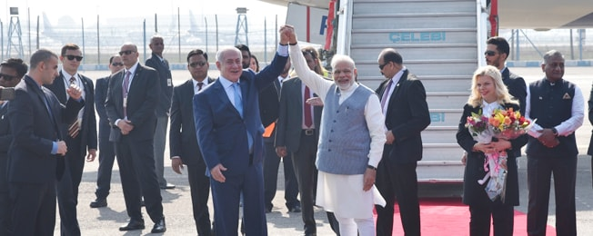 Visit of Prime Minister of Israel to India (January 14-19, 2018)