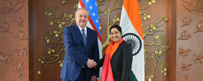 Visit of Foreign Minister of Uzbekistan to India (February 11-12, 2018)