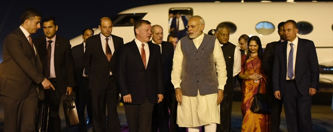 Visit of the King of Jordan to India (February 27 – March 01, 2018)
