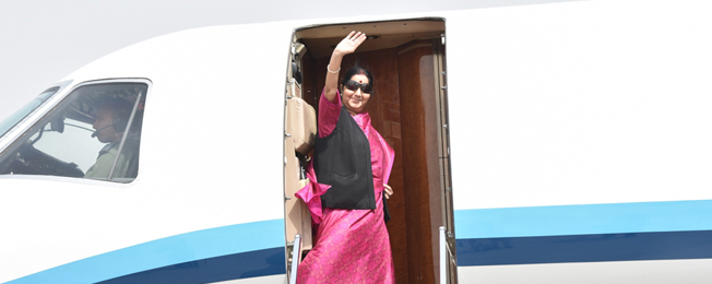 Visit of External Affairs Minister to South Africa (June 3-7, 2018)