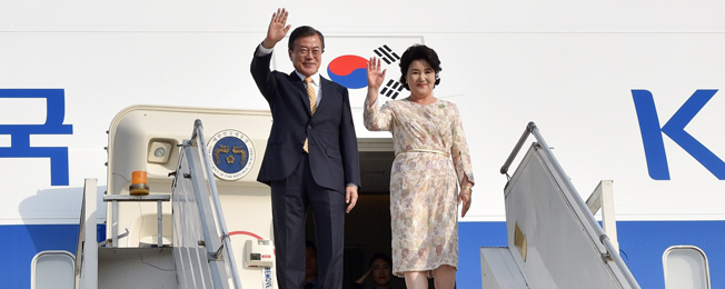 State Visit of President of the Republic of Korea to India (July 8-11, 2018)