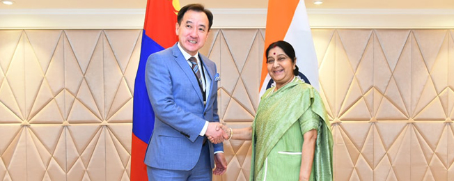 Visit of Minister of Foreign Affairs of Mongolia (January 07-11, 2019)