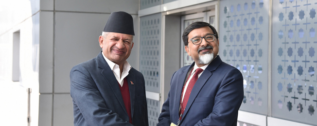 Visit of Minister for Foreign Affairs of Nepal to India (January 10- 11, 2019)
