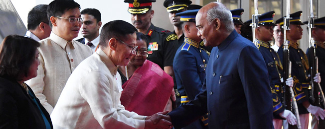 Visit of President to Philippines and Japan (October 17-23, 2019)