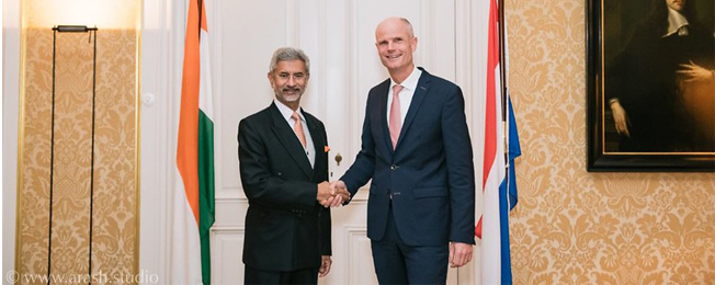 Visit of External Affairs Minister to The Netherlands (9-11 November, 2019)